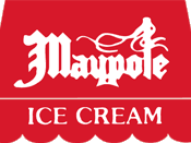 The logo of Maypole Ice Creams