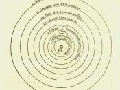 English: Image of heliocentric model from Nicolaus Copernicus'