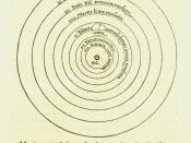 Image of heliocentric model from Nicolaus Copernicus' De revolutionibus orbium coelestium
