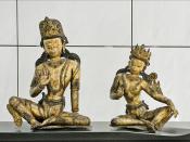 Indra et Indrani (Musée des arts asiatiques, Nice)