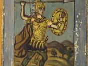 Theseus, the king of Athenians.
