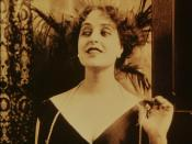 English: Screenshot of Pina Menichelli in Tigre Reale (1916), Itala films, Turin.