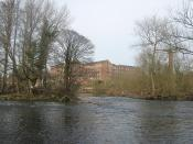 Darley Abbey Mills and River Derwent, Derby