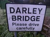 Darley Bridge, Derbyshire
