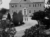 English: St. Vincent's College (now Loyola Marymount University) in 1866; 1st location. Courtesy of the Los Angeles Public Library's Photo Collectionhttp://catalog1.lapl.org/. Category:Images of Los Angeles