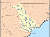 The Yadkin River is the northern most part of the Pee Dee Drainage Basin