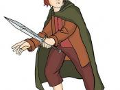 drawing of Frodo Baggins