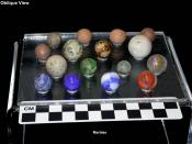 Some historic marbles