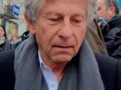 English: Roman Polanski in Paris at the lunch of the César awards nominees Français : Roman Polanski au déjeuner des nommés des César du cinéma
