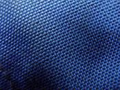 English: Closeup of blue Cordura(TM) fabric