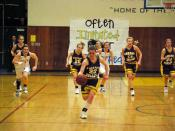 English: Amador Valley Varsity Girls' Basketball team plays against rival team Foothill High School.