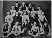 English: Hartford City High School varsity basketball team for 1922-23 season