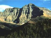 Mount Cleveland is the highest peak in the Lewis Range