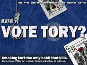 Death by Ballot - Vote Tory?