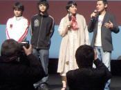 L'équipe du film Le Pensionnat au festival du film asiatique de Deauville