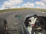 English: In Car Footage from a Van Diemen RF01 driven by Micheal Fitzgerald Cork Racing