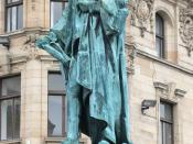 English: Statue of William Pitt the Younger at the intersection of George Street and Frederick Street, Edinburgh. Nederlands: Standbeeld van William Pitt de Jongere op het kruispunt van George Street en Frederick Street, Edinburgh.