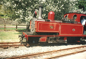 Welshpool and Llanfair Light Railway - SLR No 85 1954 (painted red)