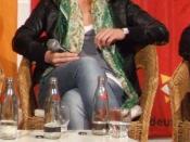 Deutsch: Die deutsche Schauspielerin Kirstin Fischer, 2009, beim Filmgespräch während des