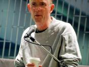 William Gibson reading from his new book Spook Country at Bolen Books in Victoria BC Canada.