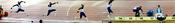 Beijing Olympics: Men's Triple Jump Panorama of Idowu Phillips
