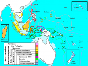 Localization of the Austronesian languages