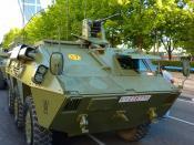 Español: BMR Mercurio del Ejército Español.
