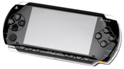 English: A North American Sony PSP-1000 handheld video game console.
