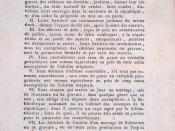Français : décret de la convention sur le droit d'auteur (page de garde d'un ouvrage de la bibliothèque patrimoniale de Gray (France)