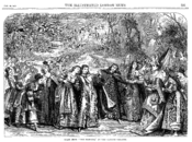 Gilbert reworked his 1870 farce, The Princess, illustrated here, into Princess Ida (1884).