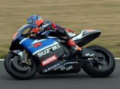English: Kenny Roberts Jr., in Japanese Grand Prix 2003 ケニー・ロバーツ(ジュニア) 2003年日本GPにて撮影