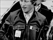English: Kenny Roberts, motorcycle racer