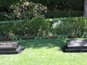 The graves of Richard and Pat Nixon, Yorba Linda CA