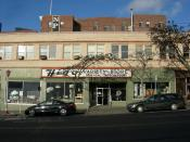 Former Higo Variety Store, now Kobo at Higo, 604 S Jackson Street in the International District, Seattle, Washington, USA. Higo was, for many decades, a