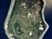 English: Nauru satellite picture