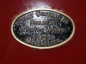 GCR Works Plate