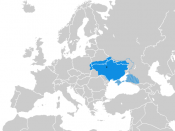 Map of the Ukrainian State (1918.V-XI) 日本語: ウクライナ国の地図 (1918年5月‐11月)