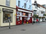 English: Weymouth - Fish And Chip Shop In my oppinion the best fish and chips in Weymouth.