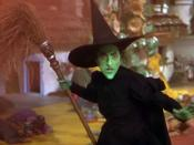 Margaret Hamilton as the Witch in the 1939 film version