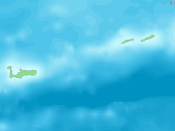 English: Map of Cayman Islands