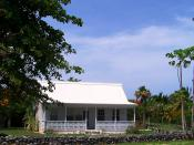 English: Traditional Caymanian home, East End - Grand Cayman Island