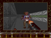 A screen of the Mega Drive port