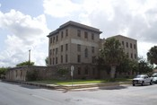 English: Old Brownsville City Jail in Brownsville Texas. Listed on the NRHP.