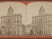 Union Dime Savings Bank, from Robert N. Dennis collection of stereoscopic views 2