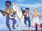 Jeanie with the Light Brown Hair (anime)