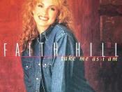 Take Me as I Am (Faith Hill song)