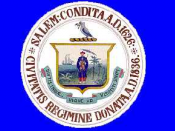 Flag of Salem, Massachusetts