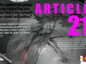 ARTICLE 21 - Universal Declaration of Human Rights 60th Anniversary