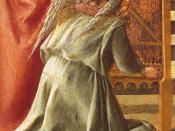 Fra Filippo Lippi - Madonna and Child Enthroned with Saints (detail) - WGA13164