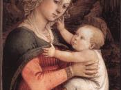 Fra Filippo Lippi - Madonna and Child - WGA13306